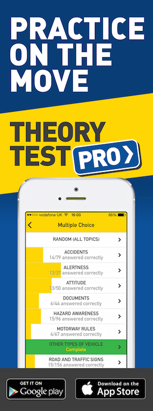 Theory Test Pro in partnership with JSP Driver Training